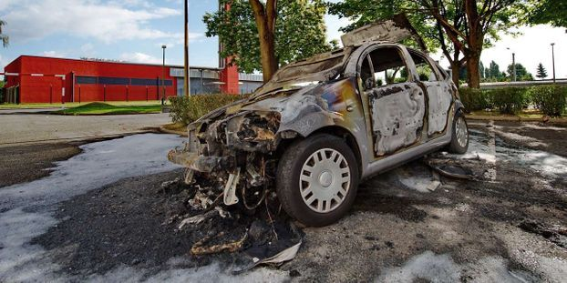 14 juillet : le nombre de voitures brûlées en forte hausse