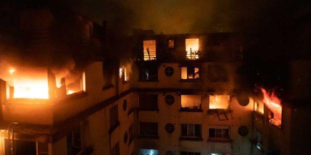 Incendie, Paris, B.Moser/BSPP 1280