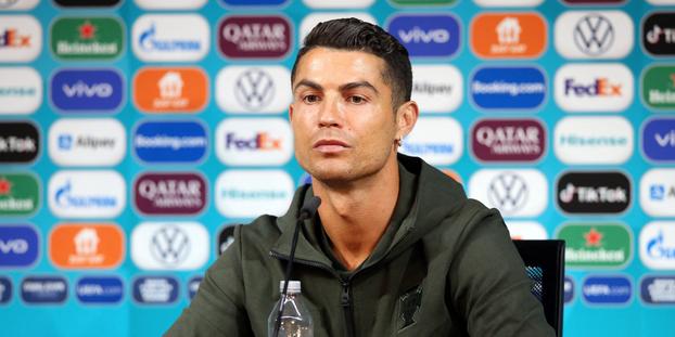 Cristiano Ronaldo est connu pour son hygiène de vie très stricte, guère compatible avec les sodas sucrés.