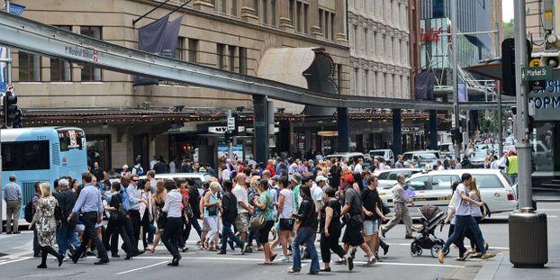 Australie : une personne poignardée dans une rue du centre de Sydney