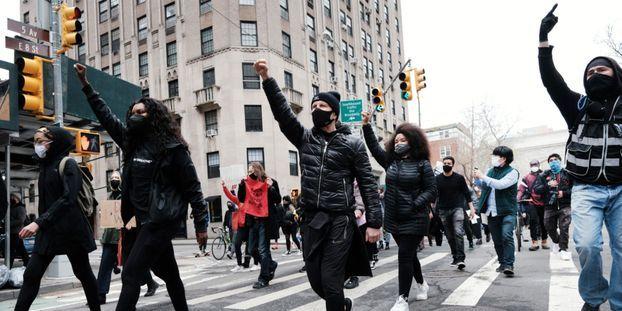 Des manifestations ont eu lieu aux Etats-Unis pour dénoncer les circonstances de la mort de Daunte Wright.