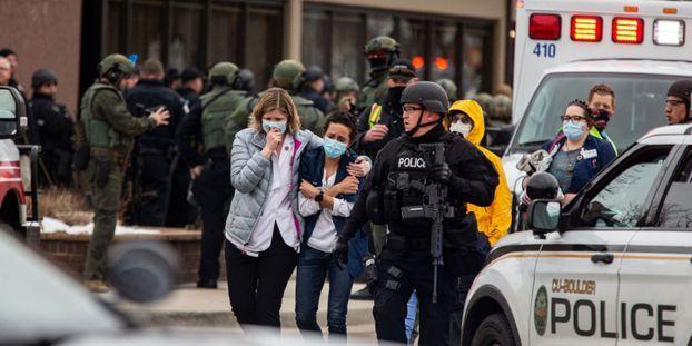 La tuerie s'est déroulée dans un supermarché de la ville de Boulder, dans le Colorado.