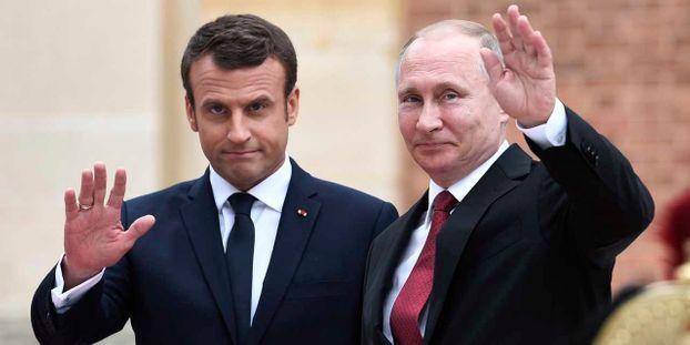 """Macron à Poutine : """"Il est impérieux que le cessez-le-feu soit respecté à Idleb"""" en Syrie"""