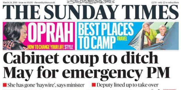 Theresa May sous la menace d'un putsch de son gouvernement