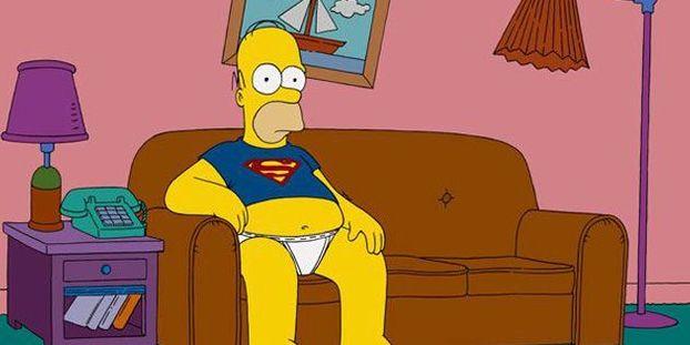 D Oh Homer Simpson Vieillit Bien
