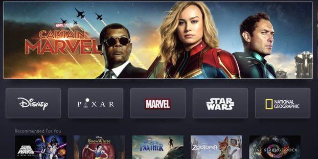 Disney+ vient concurrencer Netflix, Amazon et Apple avec son riche catalogue