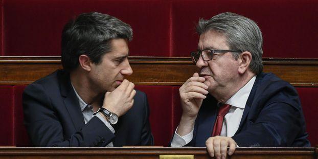 A Amiens, Mélenchon et Ruffin main dans la main pour pilonner la réforme des retraites