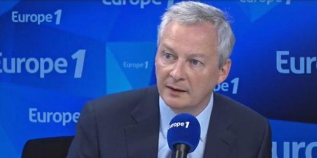 """Bruno Le Maire menace les Etats-Unis d'un """"train de sanctions sévères"""""""