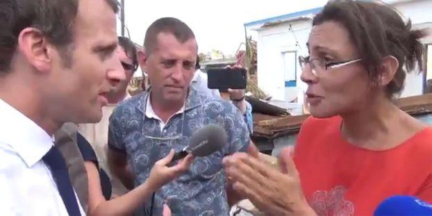 Irma Emmanuel Macron S Engage A Revenir A Saint Martin