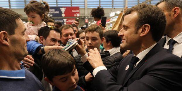 Marathon au Salon de l'Agriculture : Emmanuel Macron bat son propre record