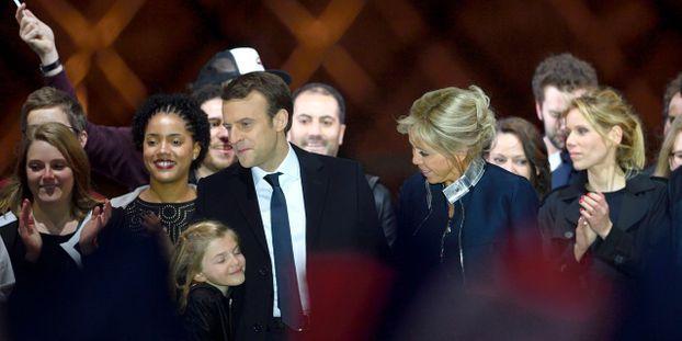 Parents Beaux Enfants Freres Et Soeurs Qui Est La Famille Macron