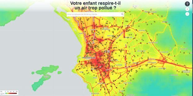 Pollution De Lair Des Milliers Denfants De Marseille Et