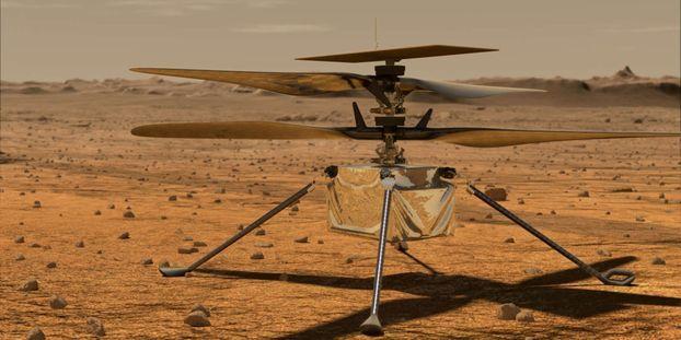 Le voyage d'Ingenuity, qui doit être le tout premier vol d'un engin motorisé sur une autre planète, était prévu pour dimanche.