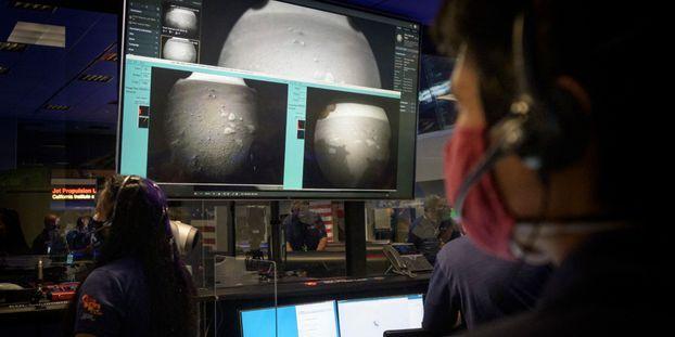 Le rover Perseverance a atterri sur Mars au mois de février.