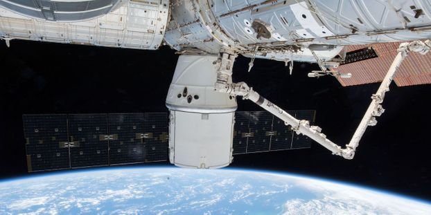La Station spatiale internationale tourne en permanence à 400 kilomètres au-dessus de nos têtes
