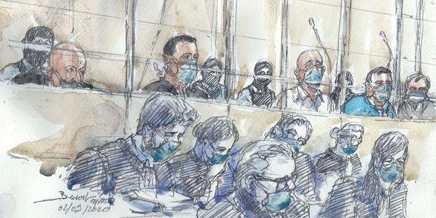 Au procès des attentats de janvier 2015, en septembre 2020 à Paris.