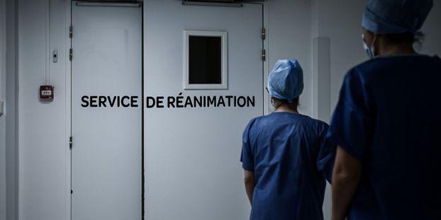 Le nombre de patients en réanimation n'a plus été aussi haut depuis le 17 avril 2020.