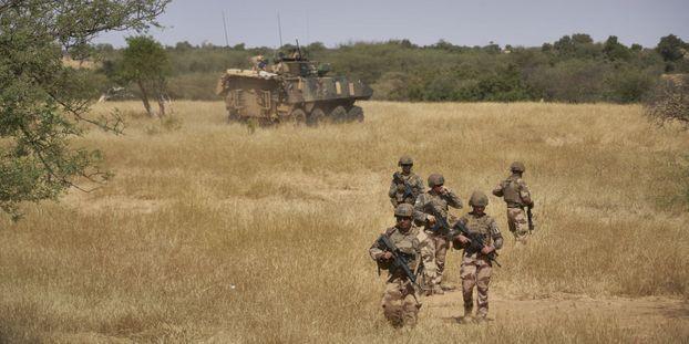 Des soldats français de l'opération Barkhane au Mali.