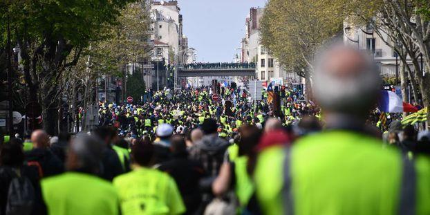 """Foto di illustrazione """"L'atto 21"""" dei """"giubbotti gialli"""" è stato il meno seguito dall'inizio del movimento."""