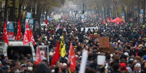 EN DIRECT - Suivez la nouvelle journée de mobilisation nationale contre la réforme des retraites
