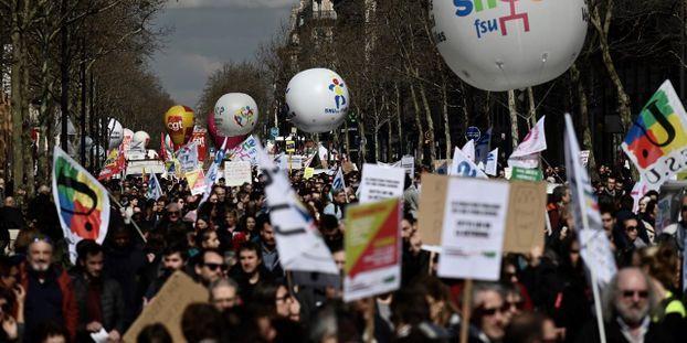 bba8011aa12 Fonction publique   la grève du 9 mai sera unitaire
