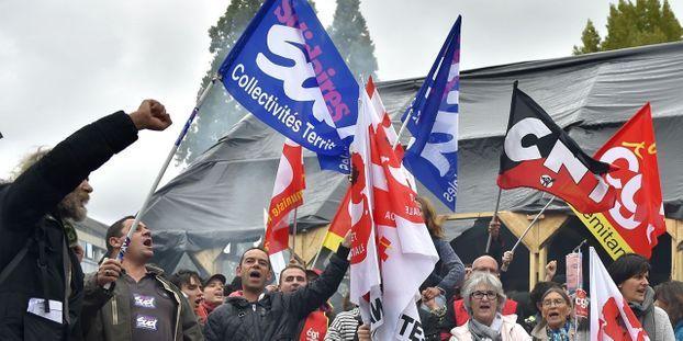 d195a621fd4 Fonctionnaires   sept syndicats appellent à la grève le 22 mai