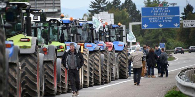 Des agriculteurs ont manifesté mardi dans plusieurs départements français.