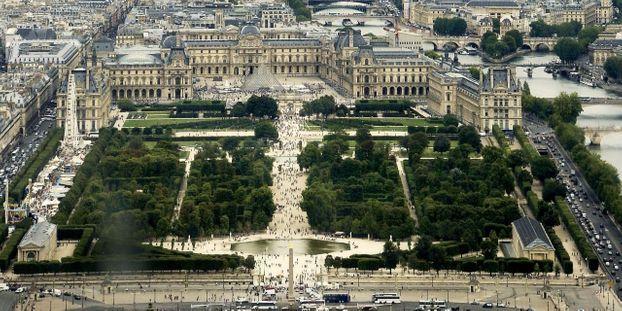 Le jardin des Tuileries sera fermé au public mardi.
