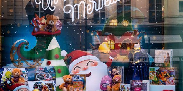 jouets Noël magasin
