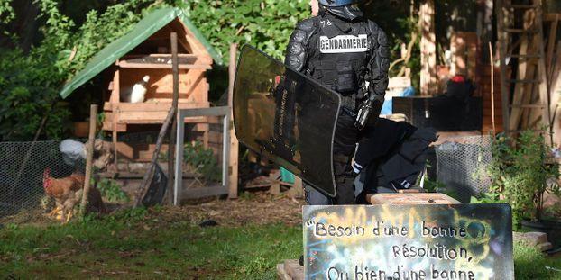 Projet de rocade à Strasbourg : retour d'opposants sur la Zad évacuée