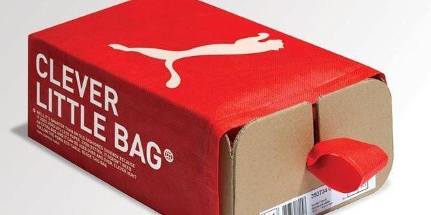 Clever Little Bag, la boite à chaussures écolo de Puma