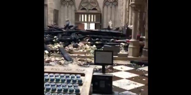 News au 16 avril 2019 VIDEO-Notre-Dame-decouvrez-les-images-de-l-interieur-de-la-cathedrale