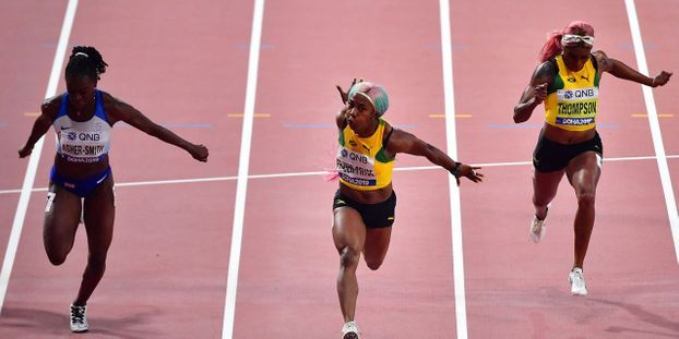 DOHA 2019: La jamaïcaine Fraser Pryce devient la femme la plus rapide du monde