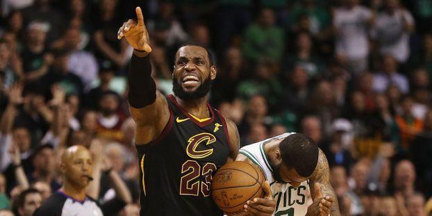 ccf575c4c305 Basket-NBA   Cleveland élimine Boston