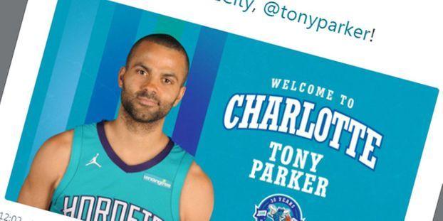 sale retailer 0ac87 a509b Basket-NBA : Tony Parker est officiellement un Hornet