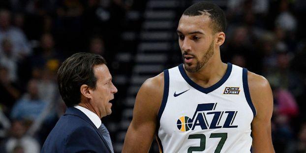 c6e2871dc9c83 Basket-NBA : Utah, privé de Gobert blessé, fait chuter Boston
