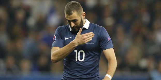 Benzema avant Portugal-France