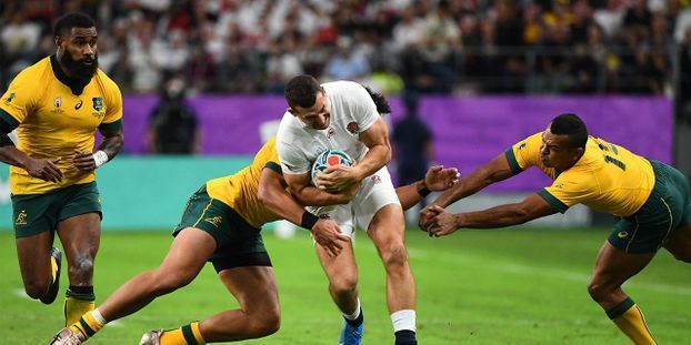 Coupe du monde de Rugby : l'Angleterre écrase l'Australie 40 à 16 et va en demi-finale