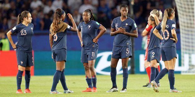 Coupe du monde féminine : qu'a-t-il manqué aux Bleues face aux Américaines ?