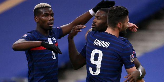 France Suede Les Bleus Et Giroud Terminent L Annee En Beaute