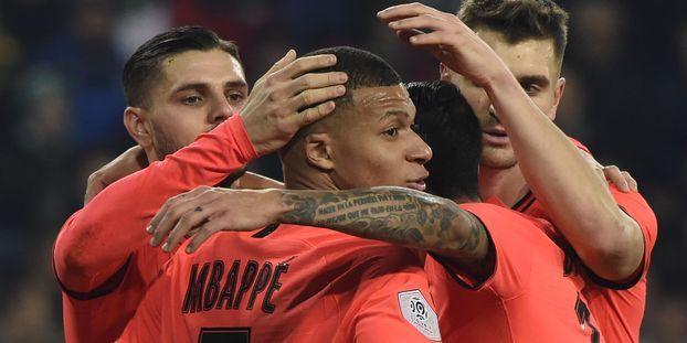 Ligue 1 : le PSG en balade à Saint-Etienne