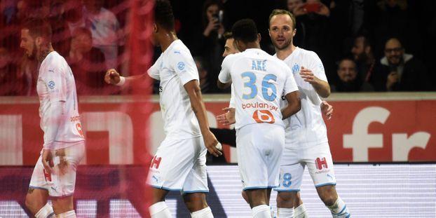 L'Olympique de Marseille de Valère Germain s'est imposé contre Lille.