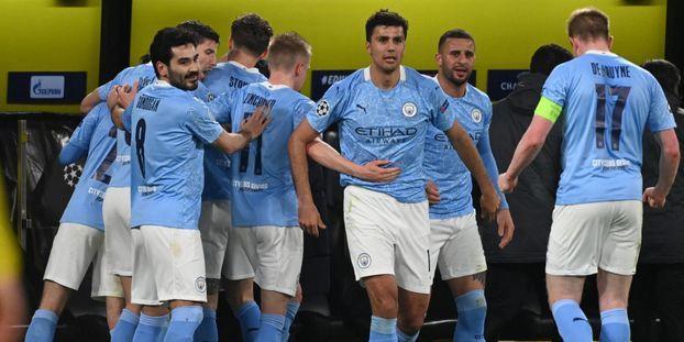 Manchester City s'est qualifié pour les demi-finales de la Ligue des champions.