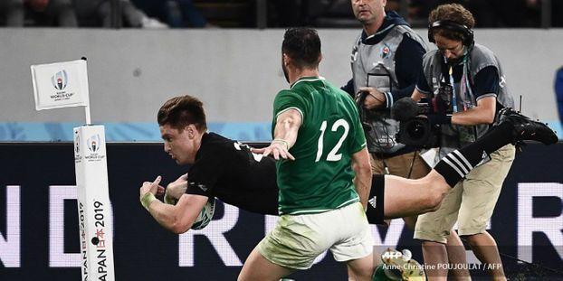 Mondial de rugby 2019 : les All Blacks rejoignent l'Angleterre en demi-finale