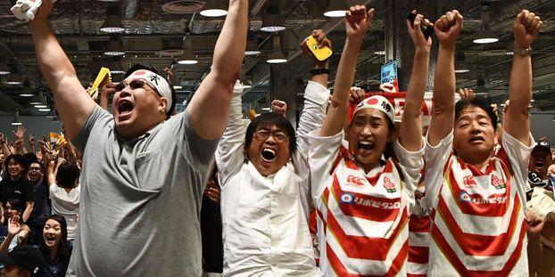 Mondial de rugby au Japon : le pays en folie à l'approche des quarts de finale