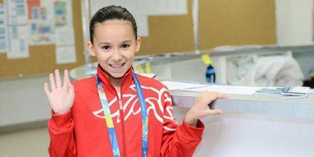 Natation   une fille de 10 ans dans le grand bain des Mondiaux d55ba2ae364