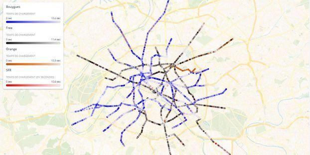 Exclusif Paris La 4g Dans Le Metro C Est Toujours Complique