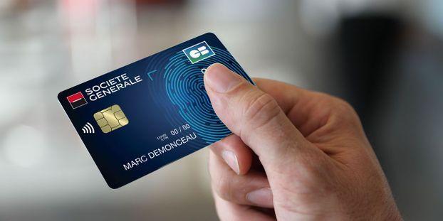 12c2e3ed64a42 La carte bleue avec reconnaissance d'empreintes digitales arrive en France