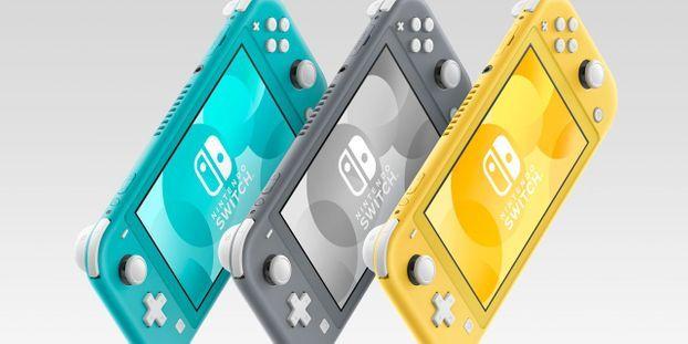 """Nintendo présente la Switch Lite, une nouvelle console """"dédiée au jeu portable"""""""