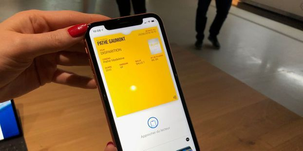 Pathé s'allie à Apple pour créer le premier ticket de cinéma sans contact